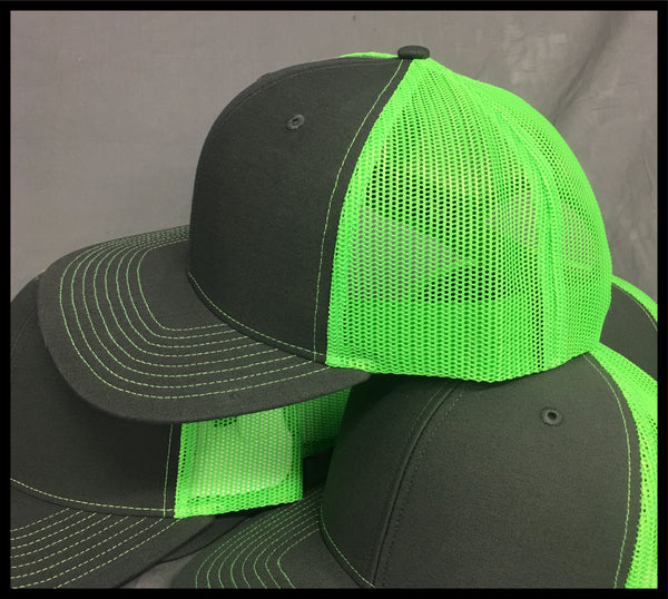 Hat with Racing Plate - green - Defiance Lifestyle, Race Apparel - Casual to Custom