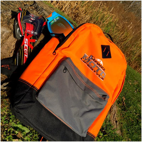 Back Pack - Moto Lifestyle - Neon orange - Defiance Lifestyle, Race Apparel - Casual to Custom