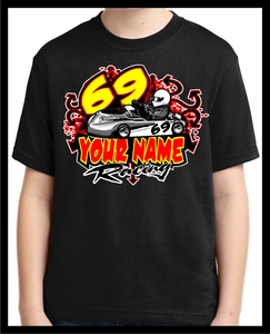 T-Shirt - Race KARTING - IN DEEP - Defiance Lifestyle, Race Apparel - Casual to Custom
