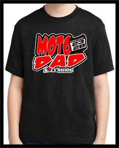 Custom T-Shirt - MOTO DAD - Defiance Lifestyle, Race Apparel - Casual to Custom