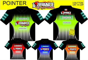 Pointer Polo Semi Custom - Defiance Lifestyle, Race Apparel - Casual to Custom