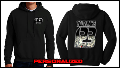 Custom Baller Sweatshirt - BLACK - Defiance Lifestyle, Race Apparel - Casual to Custom