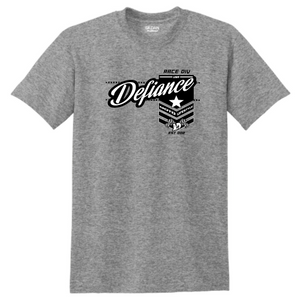 Battle T-Shirt - Sport Grey - Defiance Lifestyle, Race Apparel - Casual to Custom