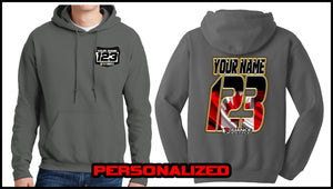 Custom Canada Sweatshirt - Charcoal - Defiance Lifestyle, Race Apparel - Casual to Custom