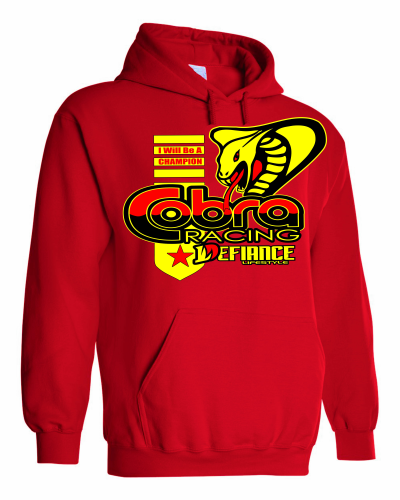 Cobra Moto Battle Hoodie - Defiance Lifestyle, Race Apparel - Casual to Custom