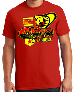 Cobra Battle T-Shirt - red - Defiance Lifestyle, Race Apparel - Casual to Custom