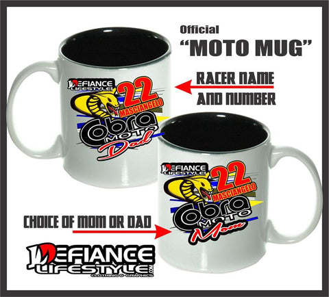 MUG - Cobra - Defiance Lifestyle, Race Apparel - Casual to Custom