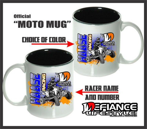 ATV Race Mugs - Defiance Lifestyle, Race Apparel - Casual to Custom