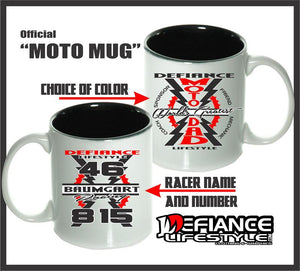 Moto Dad Mugs - Defiance Lifestyle, Race Apparel - Casual to Custom