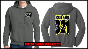 Custom Comic Sweatshirt - Charcoal - Defiance Lifestyle, Race Apparel - Casual to Custom