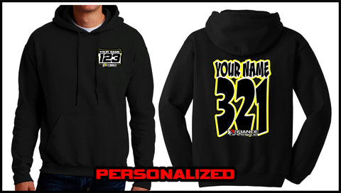 Custom Comic Sweatshirt - BLACK - Defiance Lifestyle, Race Apparel - Casual to Custom