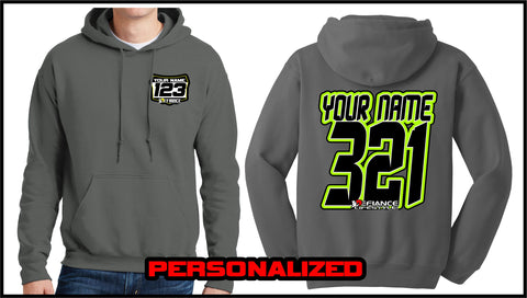 Custom Demond Sweatshirt - Charcoal - Defiance Lifestyle, Race Apparel - Casual to Custom