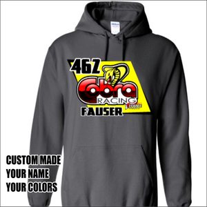 Cobra Moto Custom sweatshirt - Defiance Lifestyle, Race Apparel - Casual to Custom