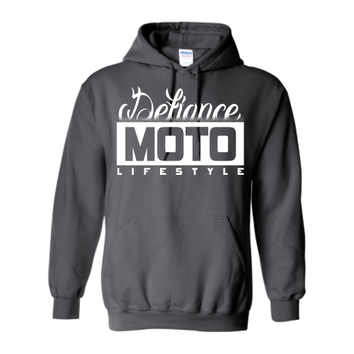 Faded Tat Sweatshirt - Charcoal Hoodie - Defiance Lifestyle, Race Apparel - Casual to Custom