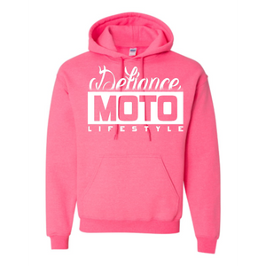 Fade Sweatshirt - Pink Hoodie - Defiance Lifestyle, Race Apparel - Casual to Custom
