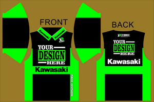 green team Polo Semi Custom - Defiance Lifestyle, Race Apparel - Casual to Custom