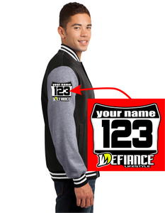 Jackets - Mens Defiance Varsity Classic Racer ST270 - Defiance Lifestyle, Race Apparel - Casual to Custom