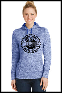 Premium Ladies Sweatshirt - Royal Corporate Seal - Defiance Lifestyle, Race Apparel - Casual to Custom