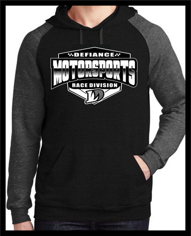Motorsports Race Division Shield - Darkness 2 tone Hoodie - Defiance Lifestyle, Race Apparel - Casual to Custom