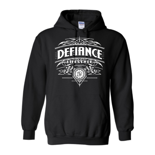 Podium Racer Sweatshirt - black Hoodie - Defiance Lifestyle, Race Apparel - Casual to Custom
