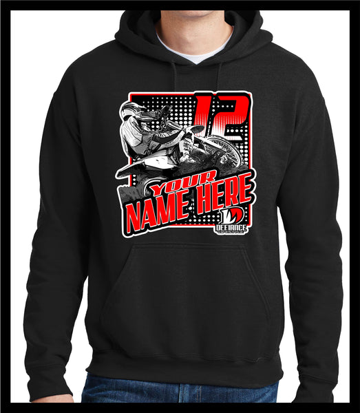 Rutt Rider  Race Sweatshirt - BLACK - Defiance Lifestyle, Race Apparel - Casual to Custom