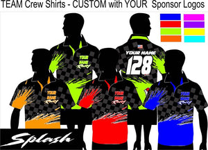 Splash Polo Semi Custom - Defiance Lifestyle, Race Apparel - Casual to Custom
