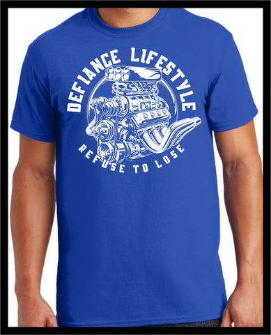 True Muscle T-Shirt - blue - Defiance Lifestyle, Race Apparel - Casual to Custom
