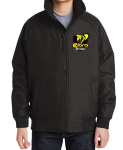 Cobra Moto Youth Jacket - black - Defiance Lifestyle, Race Apparel - Casual to Custom