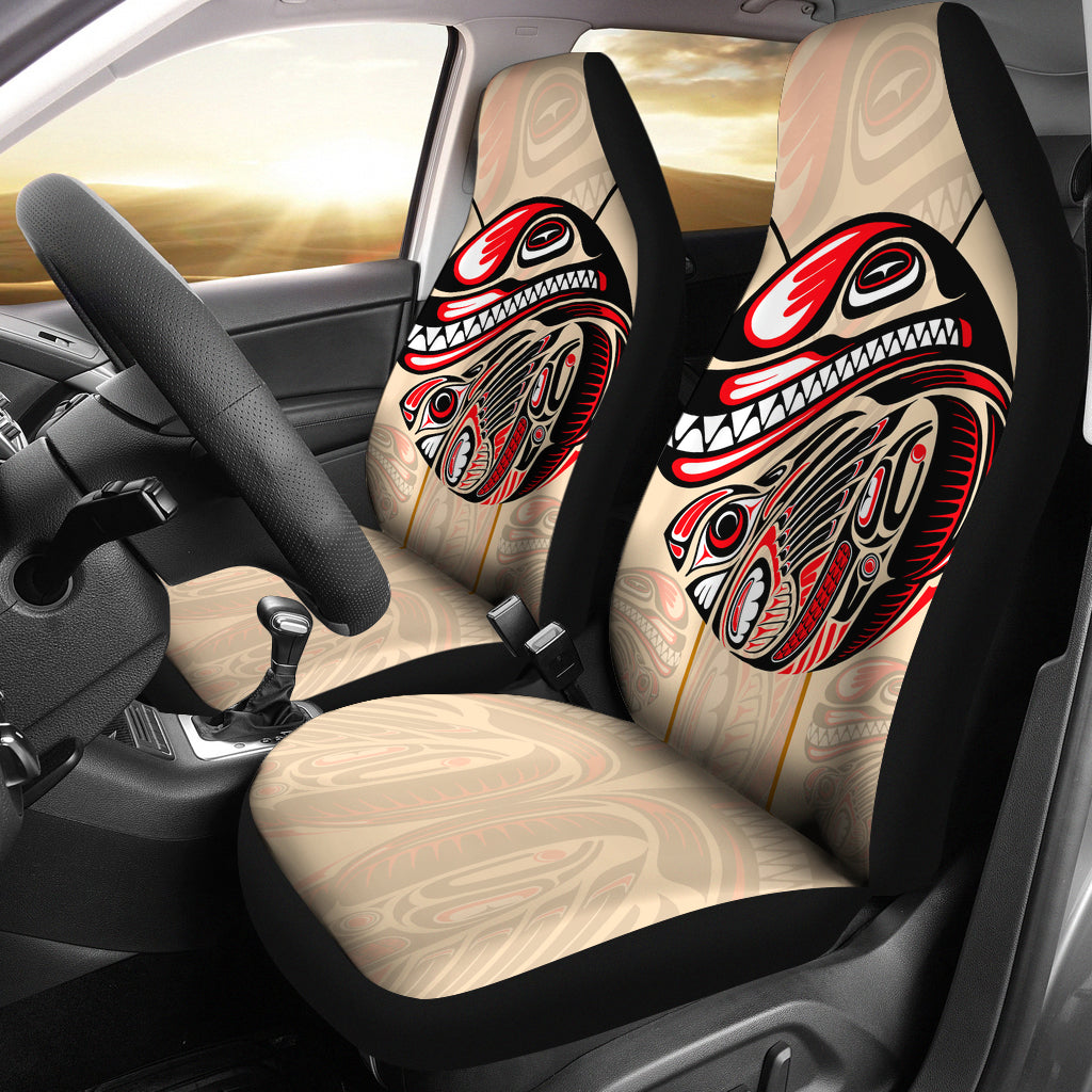 Amazing Canada Car Seat Covers Haida Eagle And Killer Dog Bn Gmtry Best Dining Table And Chair Ideas Images Gmtryco
