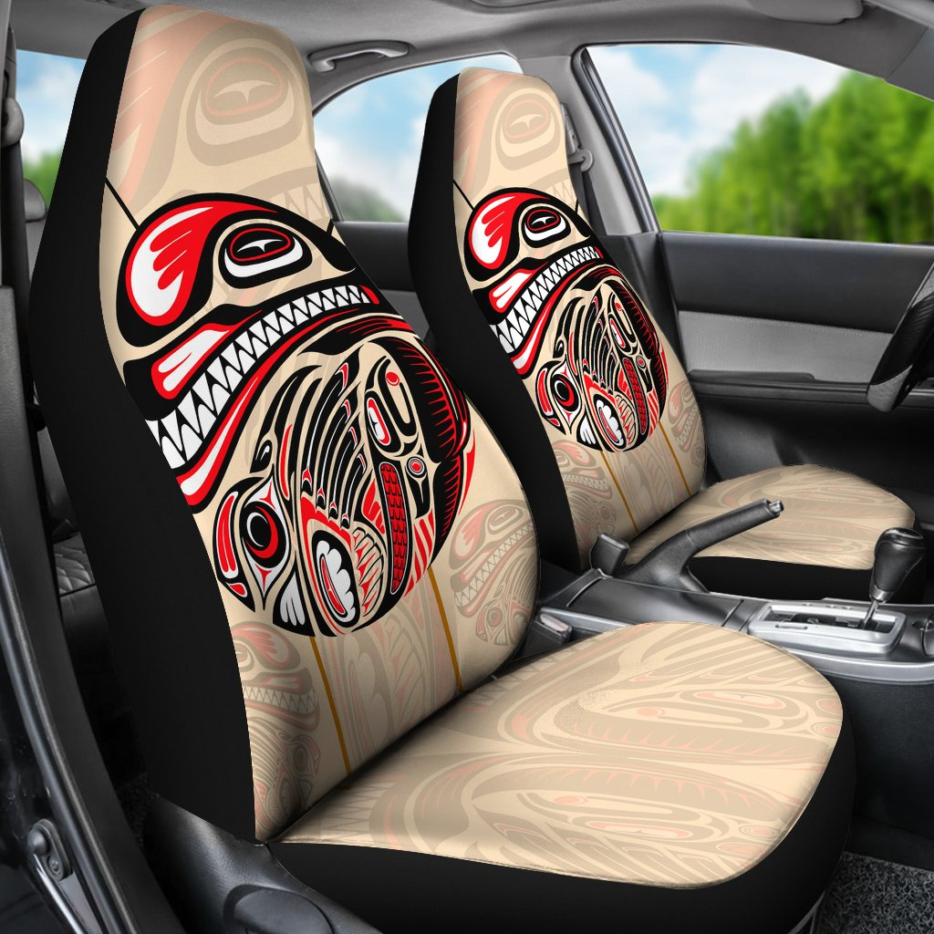 Remarkable Canada Car Seat Covers Haida Eagle And Killer Dog Bn04 Gmtry Best Dining Table And Chair Ideas Images Gmtryco