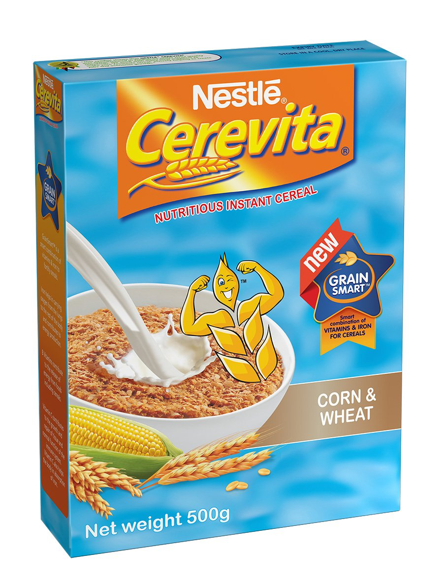 Image result for Nestle Cerevita Corn & Wheat