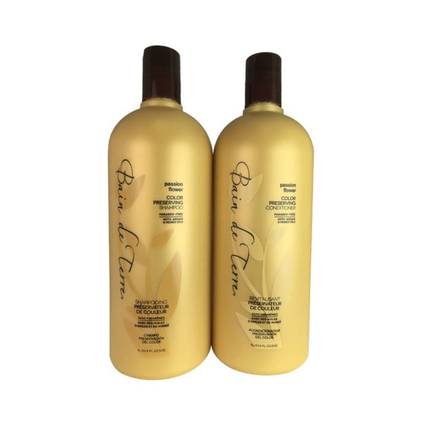 Bain de Terre /Passion Flower Shampoo & Conditioner