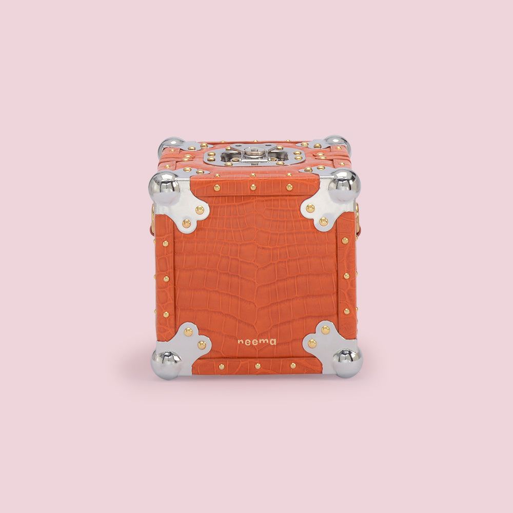 Cube Chrome Tangerine