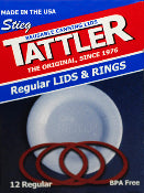 Canning:  Tattler Reusable Jar Lids