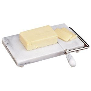 Kitchen: Marble Cheese Slicer