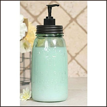 Quart Mason Jar Soap Pump