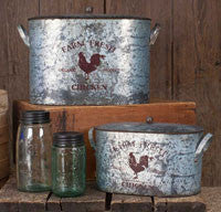 American Farmhouse Farm Fresh Buckets