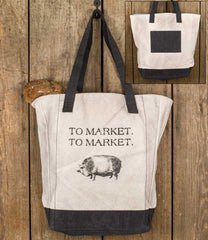 """To Market"" Market Bag"