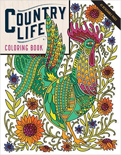 Country Life Coloring Book