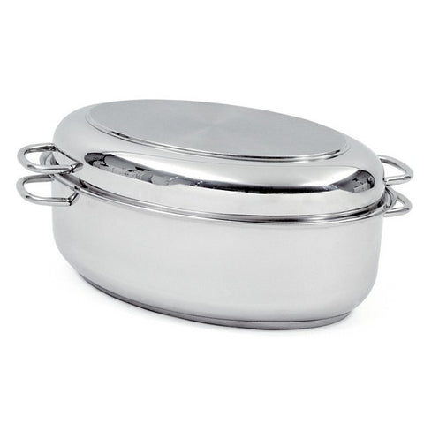12QT Stainless Steel Roaster