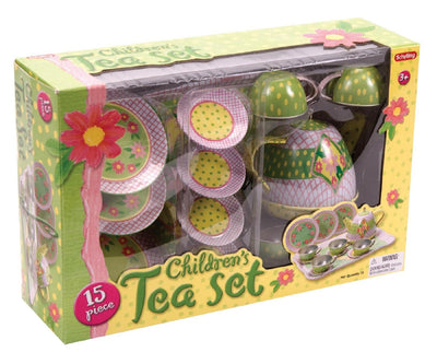 Toys: Tin Tea Set