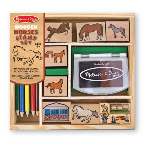 Art: Horse Stamp Set