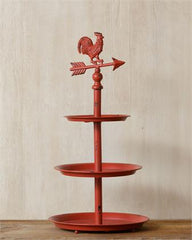 Shelf - Iron Rooster Tiered