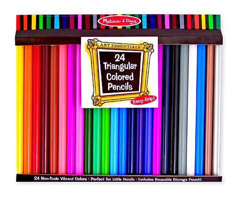 Art: Jumbo Colored Pencils (set of 24)
