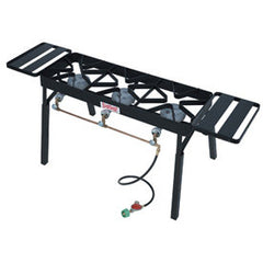 Triple Burner Outdoor Patio Stove