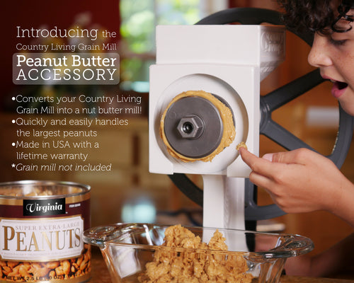 Grain Mill Peanut Butter Plus Accessory