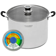20 QT. Stainless Steel Multi Use Canner