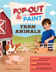 Pop Out and Paint Farm Animals