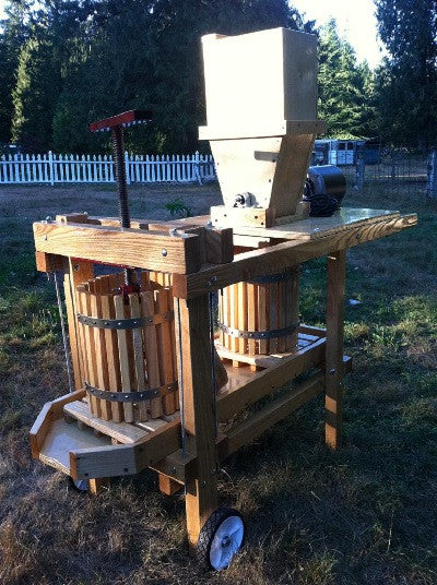 Handcrafted Cider Press