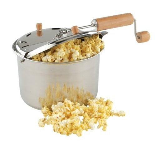 Stainless Steel: Popcorn Popper